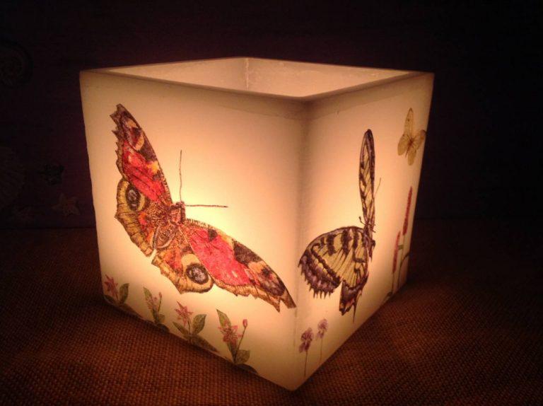 vela fanal de mariposas