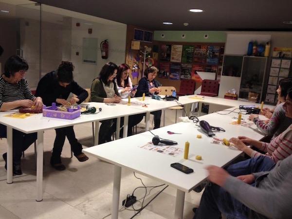 curso de velas - hacer velas - cursos de velas