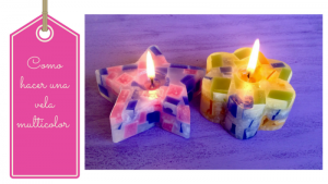 como hacer una vela artesanal multicolor11