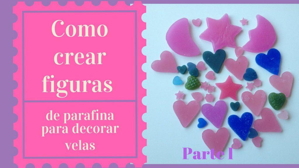 como crear figuras de parafina para decorar velas